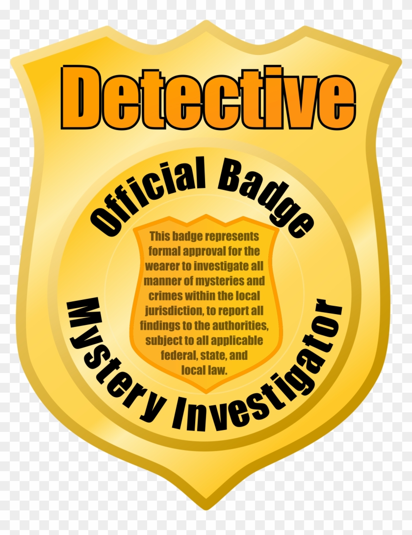 Police - Police Detective Badge Clipart #1038064