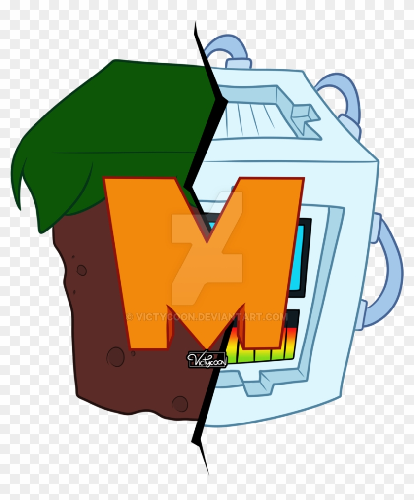 M By Victycoon - M Minecraft Server Logo - Free Transparent