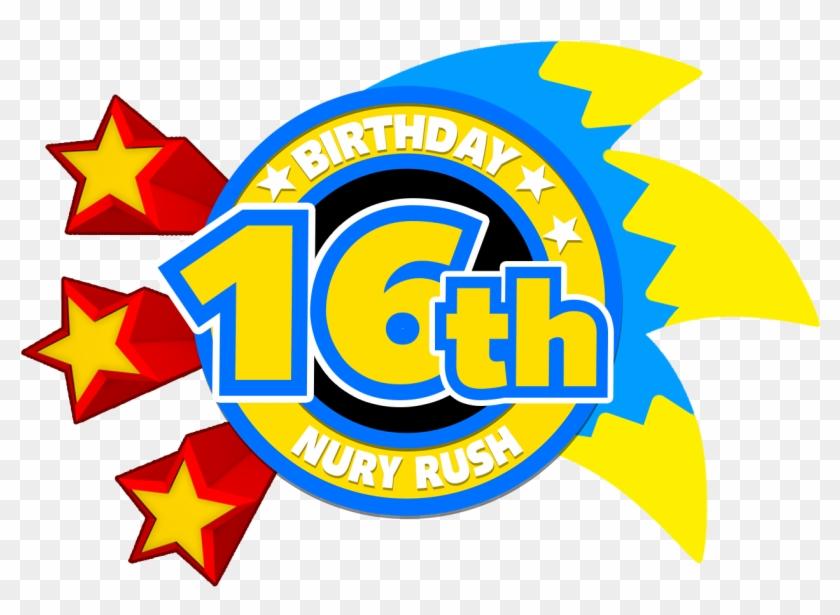 Birthday Cake Logo Clip Art 16th Birthday Logo Png Free