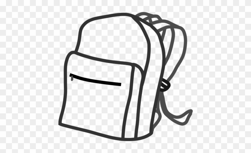 Backpack Program - Draw A School Bag #1039282