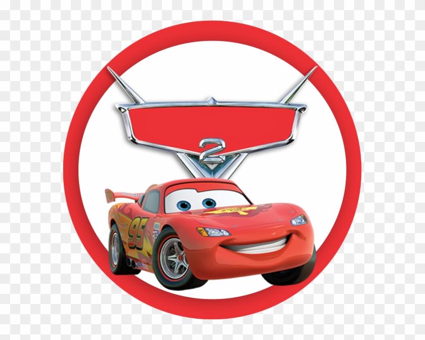 Adesivo Redondo 591 591 Pixels Cars 2 Lightning Mcqueen Free