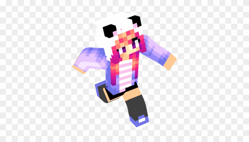 Girl Cute Anime Girl Skin Minecraft Free Transparent Png