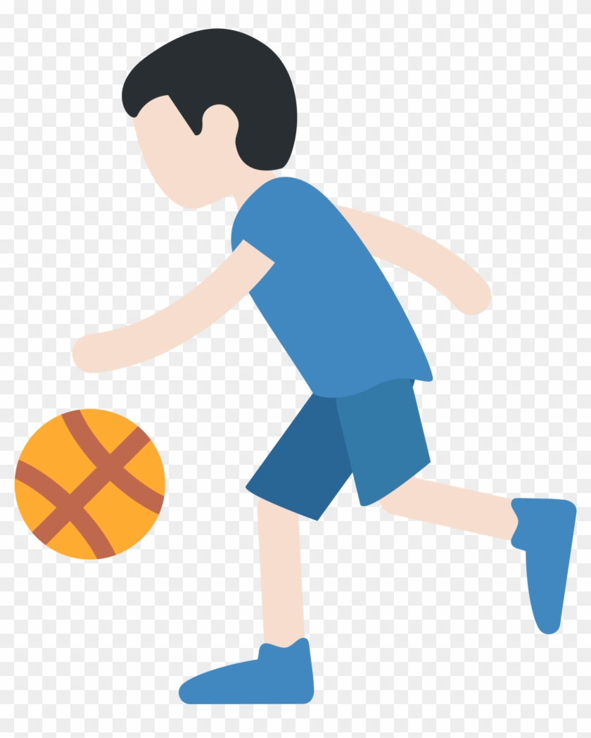Cartoon Playing Basketball 9, Buy Clip Art - Cartoon Girl Basketball Player #1039566