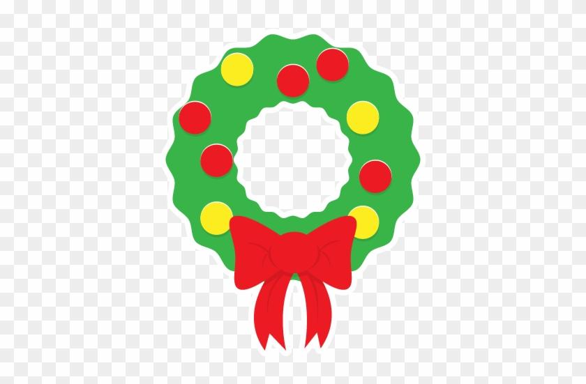 Christmas Wreath Clipart.Wreath Clipart Kid Simple Christmas Wreath Clipart Free