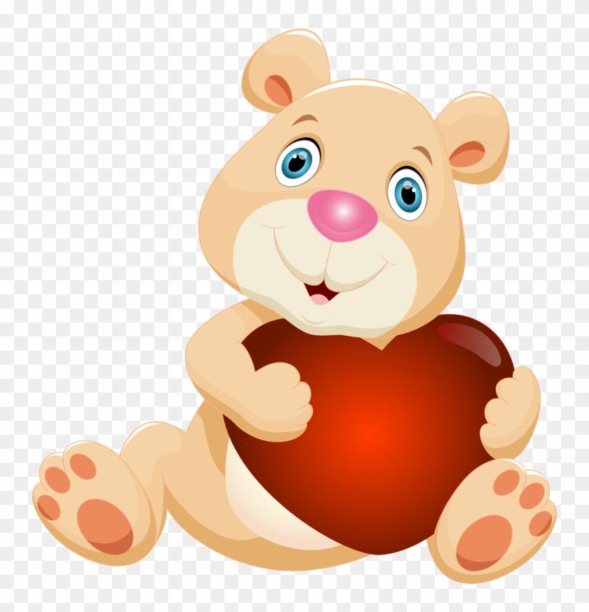 pin teddy bear clip art free happy birthday message for ex friend 1039710