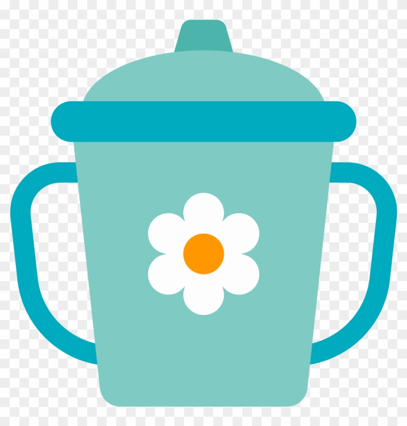 Sippy Cup Clipart - Cartoon Sippy Cup Icon #1039914