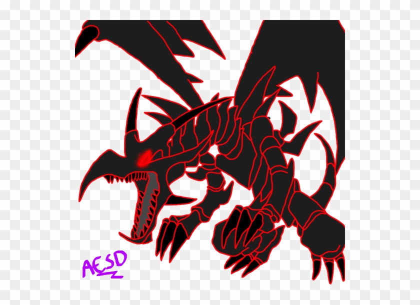 Red And Black Dragon L Red And Black Dragon Logo - Yu Gi Oh Red Eyes Black Dragon #1040124