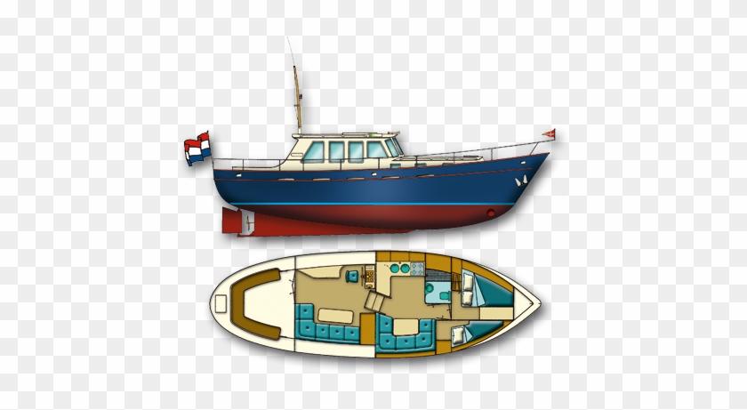 Molenmaker En Mantel Kotters Spitsgatkotter - Luxury Yacht #1040218