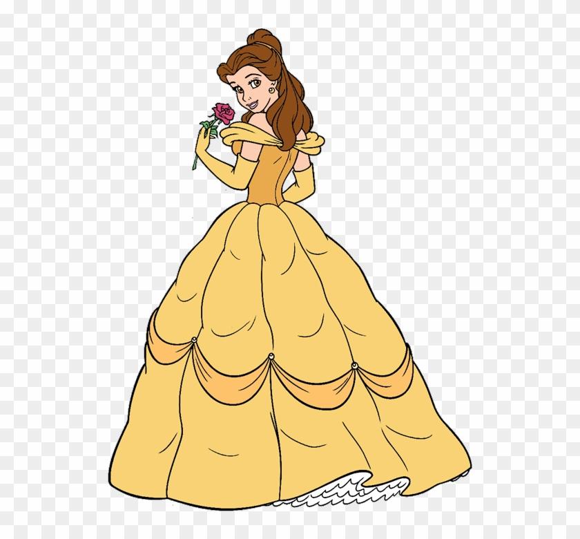 Disney Belle Wedding Dress: Wedding Dress Clipart Belle