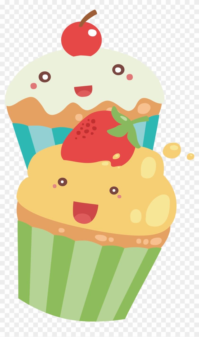Cupcake Torta Muffin - Cute Cupcakes Png #1040744
