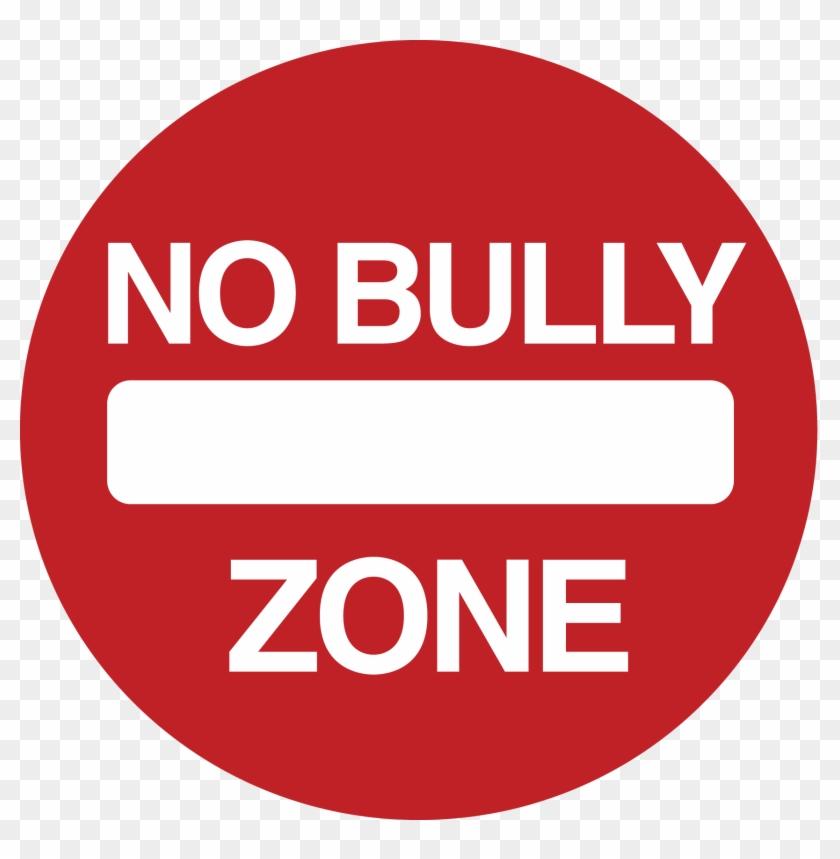 No To Bullying Stop Bullying - No Bully Zone Png #1041983