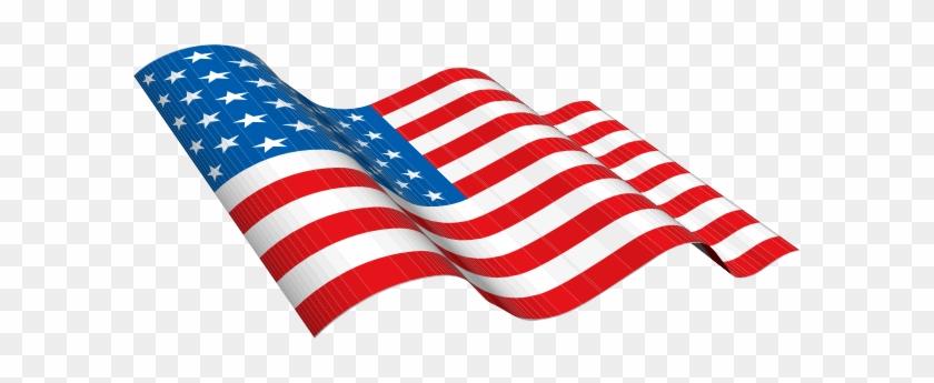 American Flag Clip Art Vector - American Flag Clip Art Gif #1042925