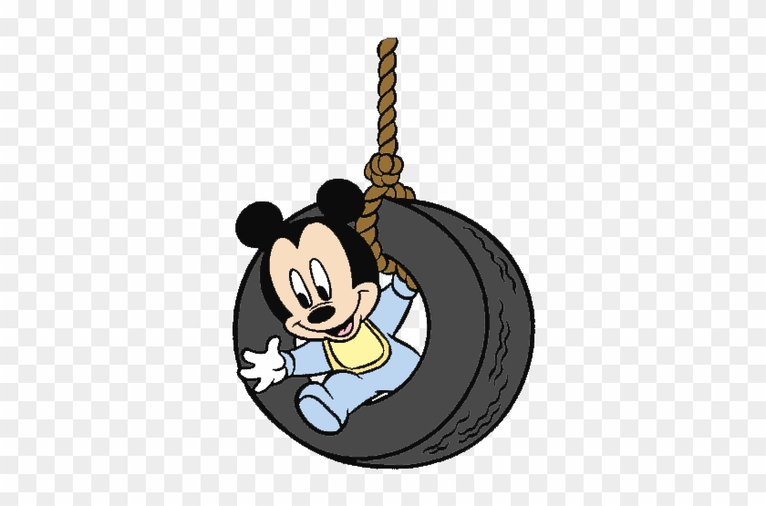 Swing Clipart Disney - Mickey Mouse Para Colorear - Free Transparent ...