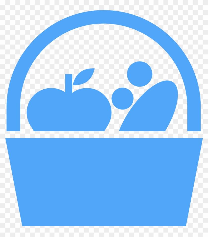 Potluck Picnic - Food Production Icon #1043828
