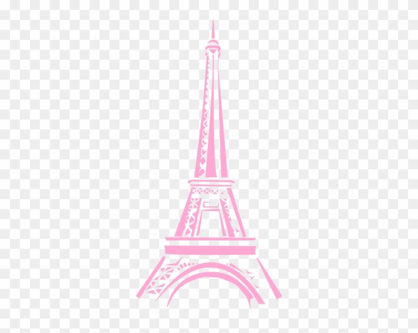 Eiffel Tower Clip Art At Clker Com Vector Clip Art Pink Eiffel