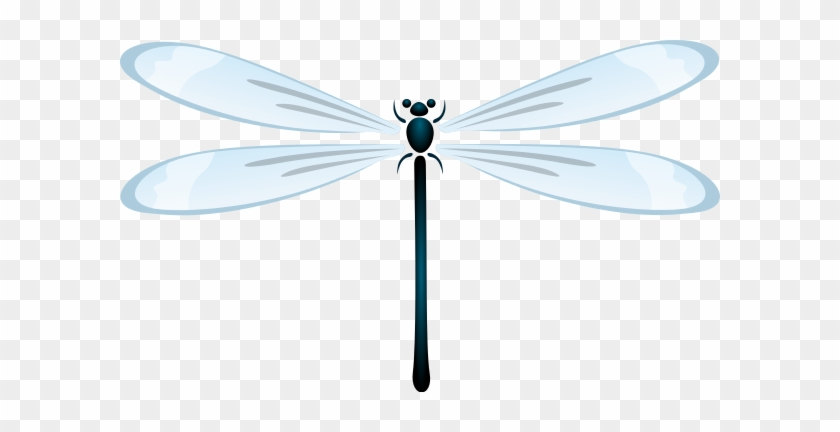 Dragon Fly Clipart - Dragonfly Clipart Png #1043914