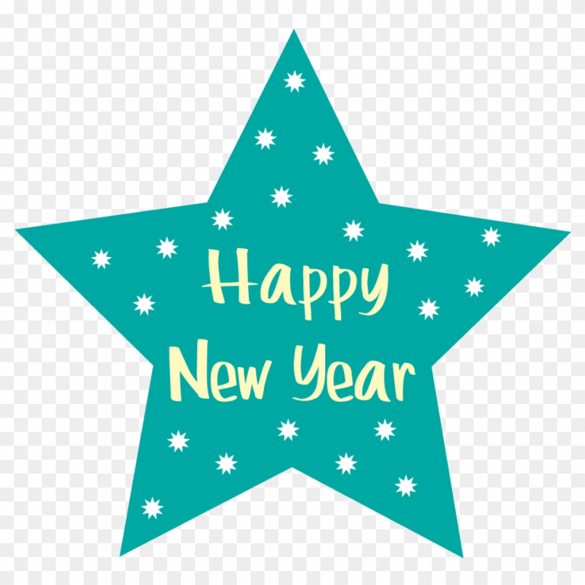 Happy New Year Free Clip Art - Happy New Year Icon Png #1043980
