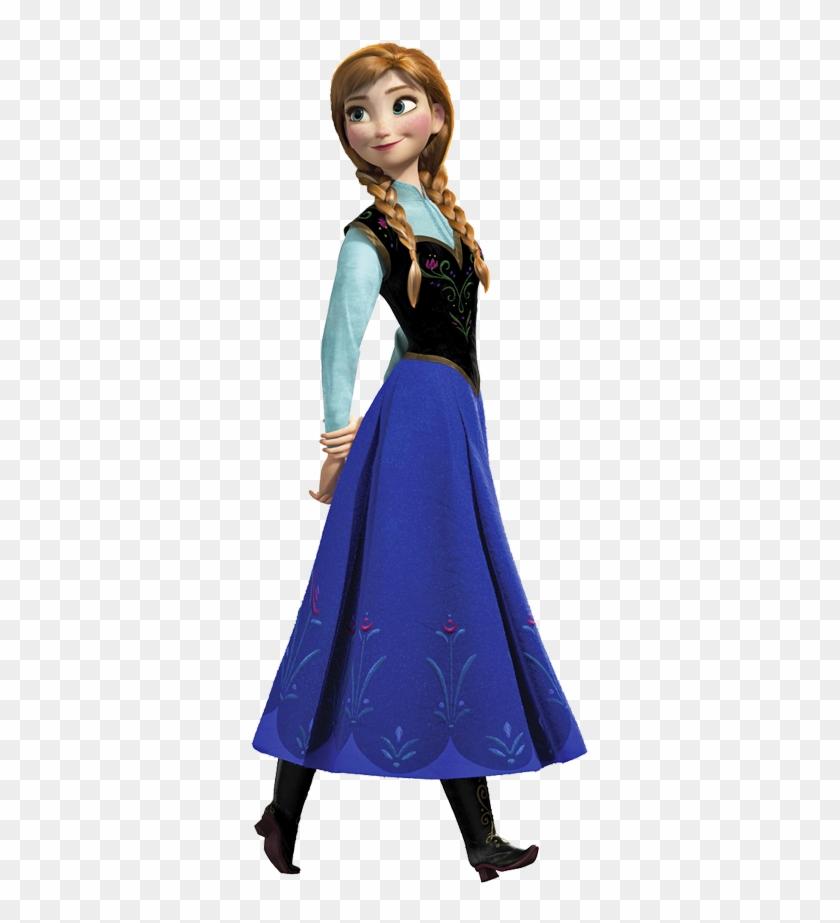 Ana Viendo Hacia Atrã¡s - Roommates Frozen Anna Wall Decals #1044068