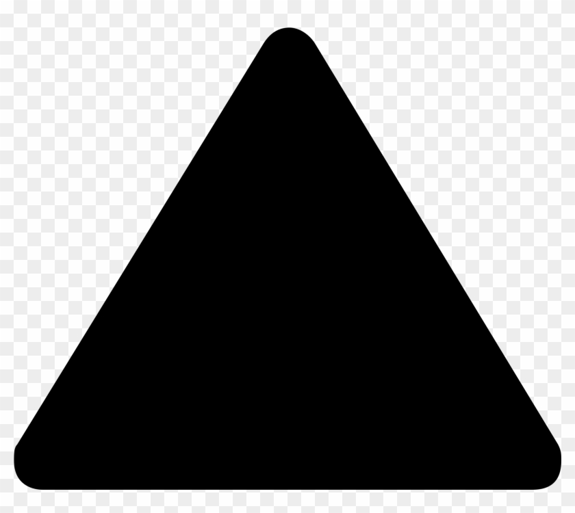 Big Image - Black Triangle Transparent Background - Free Transparent