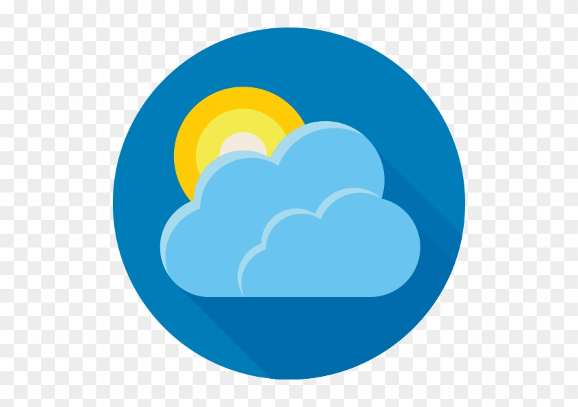 Cloud, Forecast, Sun, Weather Icon - Weather Icon #1044480