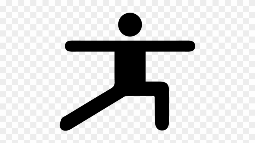 Yoga For Cyclists - Stick Man Exercising #1044518