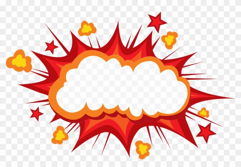 Cartoon Explosion Comics Comic Book Anself Funny Inflatable