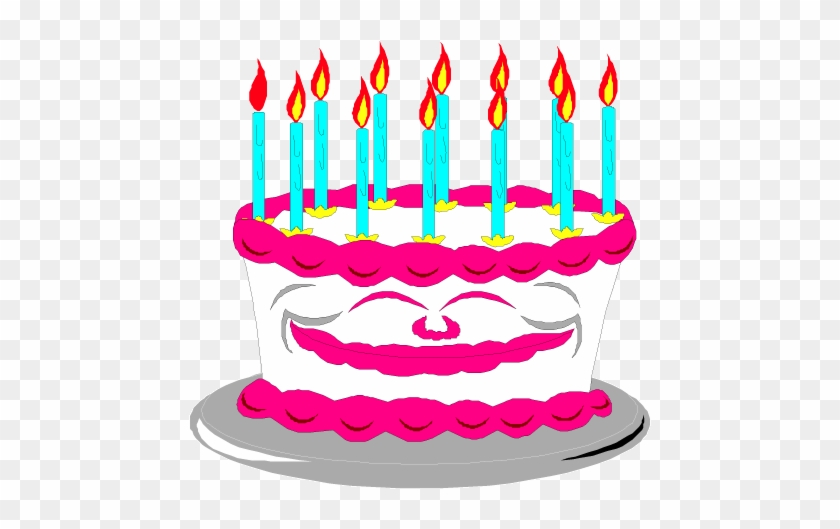 8th Birthday Cake Happy Clip Art 2 Image