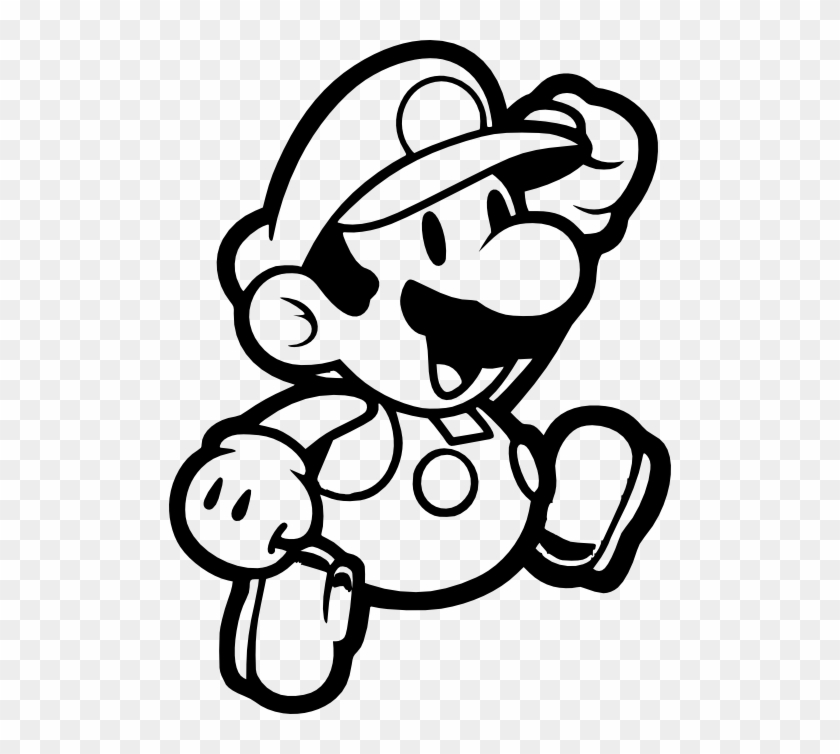 Video Games, Personal Use, Mario1, - Mario Bros Characters Coloring Pages #1045236
