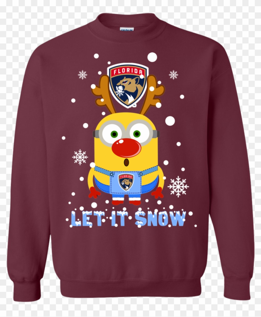 Minion Florida Panthers Ugly Christmas Sweaters Let - Christmas Jumper #1045956