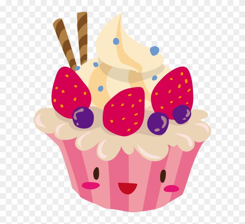 Cupcake Birthday Cake Cartoon Cute Cup Cake Cartoons Free