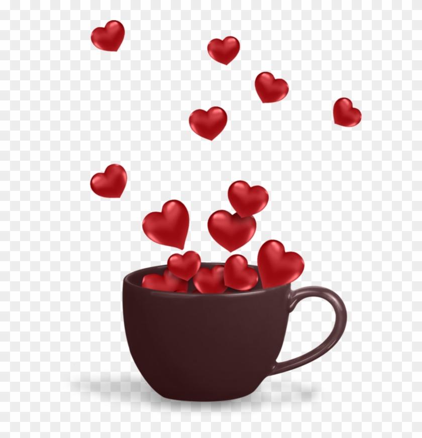 Heart Coffee Mug - - Happy Valentine's Day Sister Animated Gif #1046658