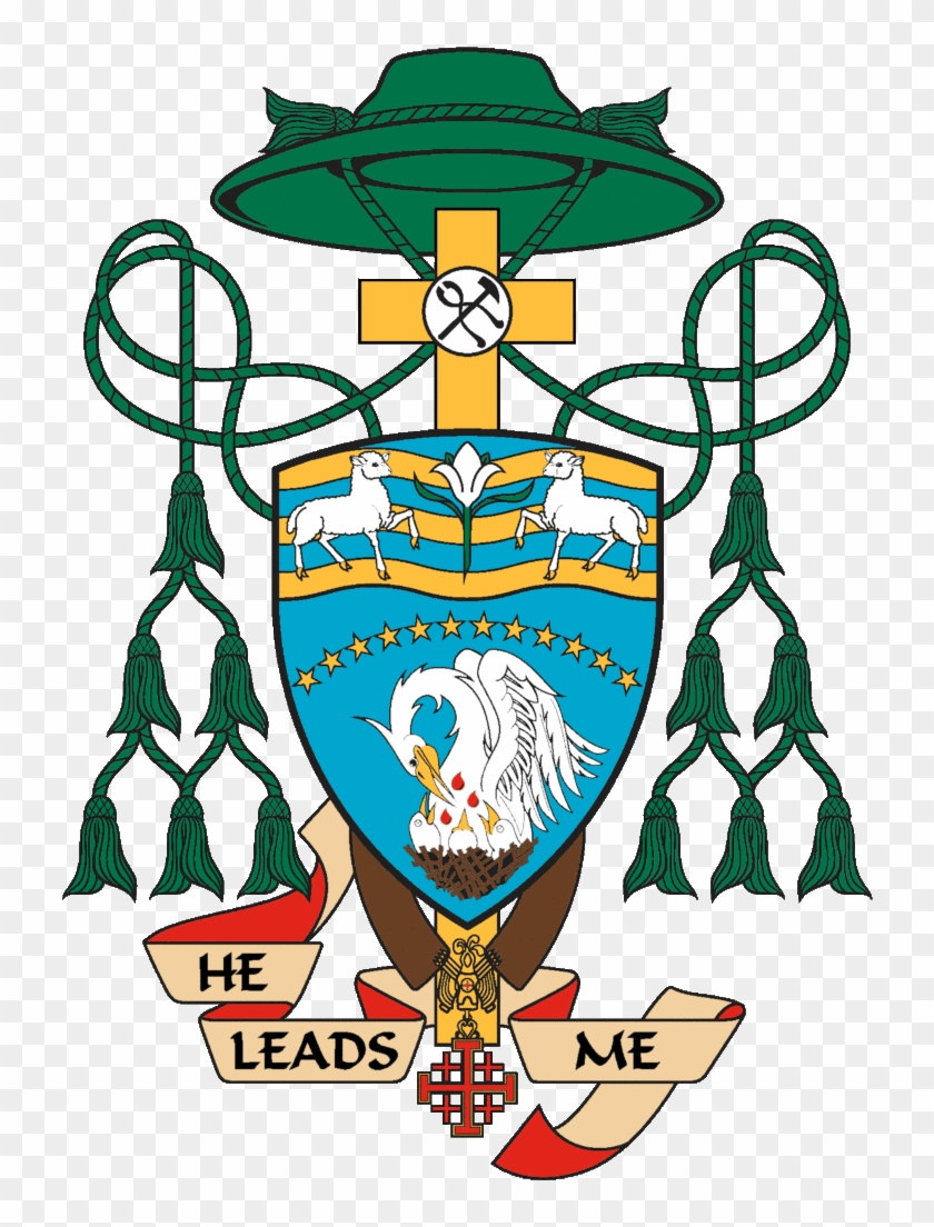 Coat Of Arms For Bishop Thanh Thai Nguyen - Bishops Coat Of Arms #1046847
