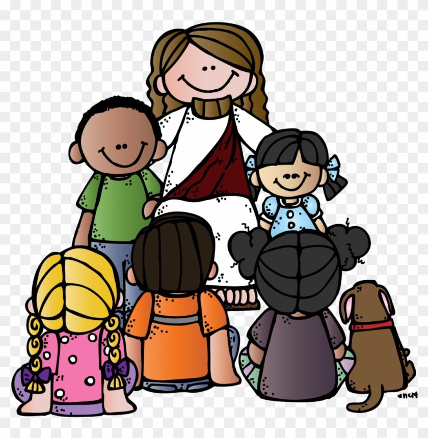 Download Pretty Jesus With Children Clip Art - Download Pretty Jesus With Children Clip Art #1047025