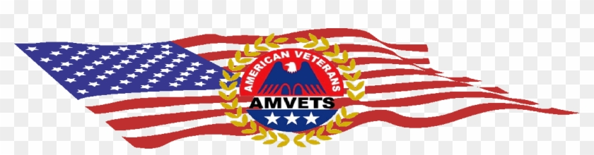 Randolph Amvets Post 51 Has A Proud History Of Assisting - Kis C Box Style American Flag Cube 27 Litres Storage #1047489