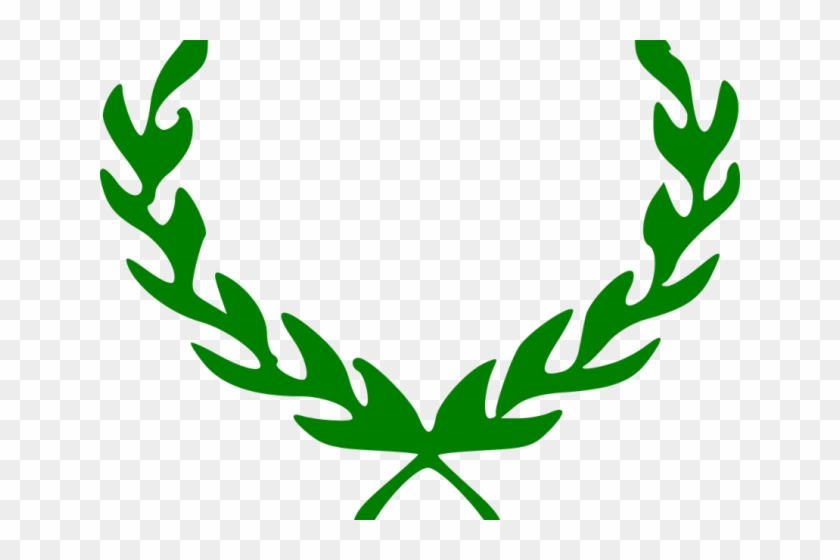 Laurel Wreath Clipart - Leaf Circle Logo Png #1047542