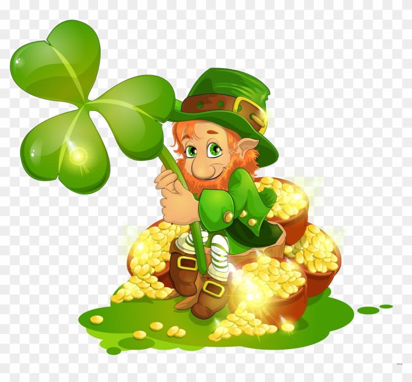 Popular Pictures Of Shamrocks And Leprechauns St Patricks - San Patrick Day 2018 #1048188