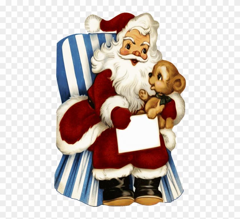 Santa Claus Png 15, Buy Clip Art - Zazzle Vintages Weihnachten Tough ...
