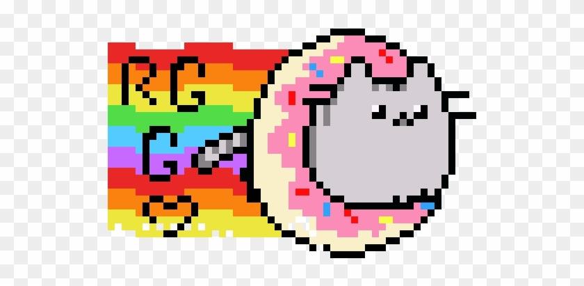 Nyan Pusheen Donut Cat