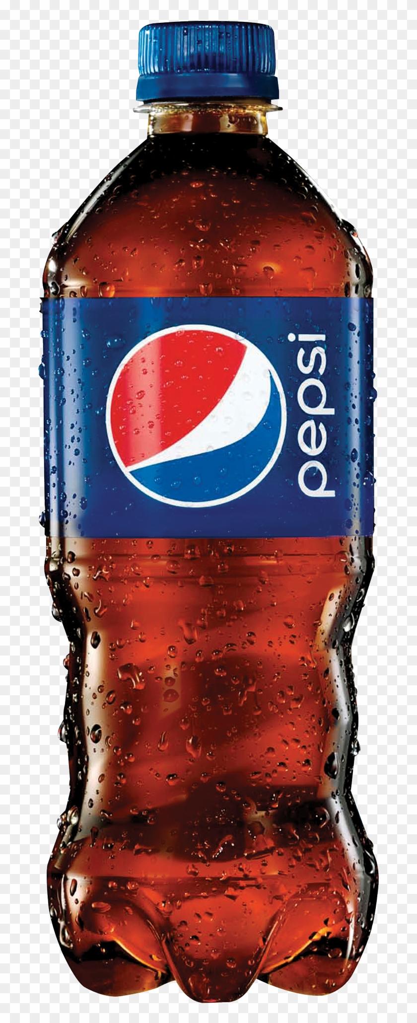 Pepsi Clipart Soda Water - Pepsi Bottle Transparent Background #1050559