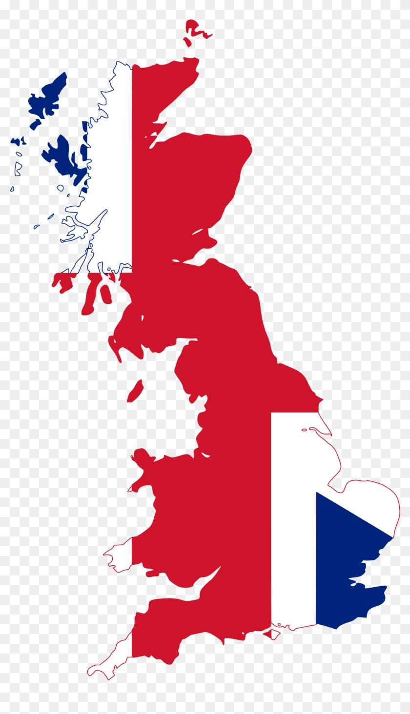 United - Scotland On Uk Map #1051343