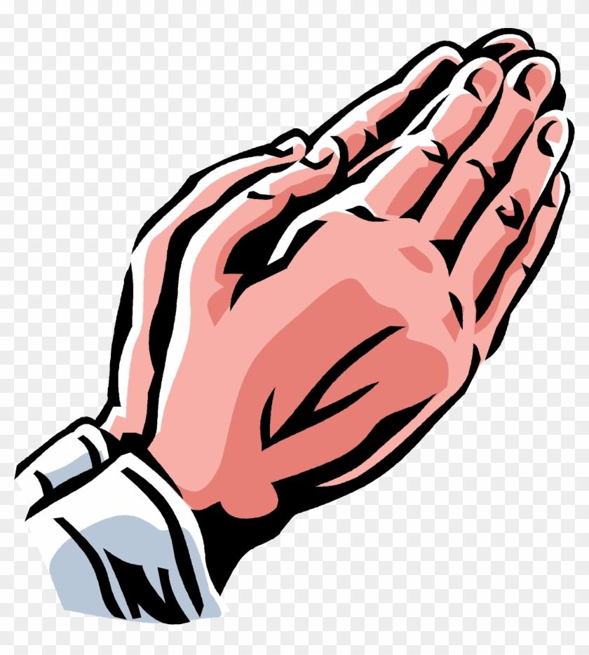 Praying Hands Praying Hand Child Prayer Hands Clip - Hands Together In Prayer #1051537