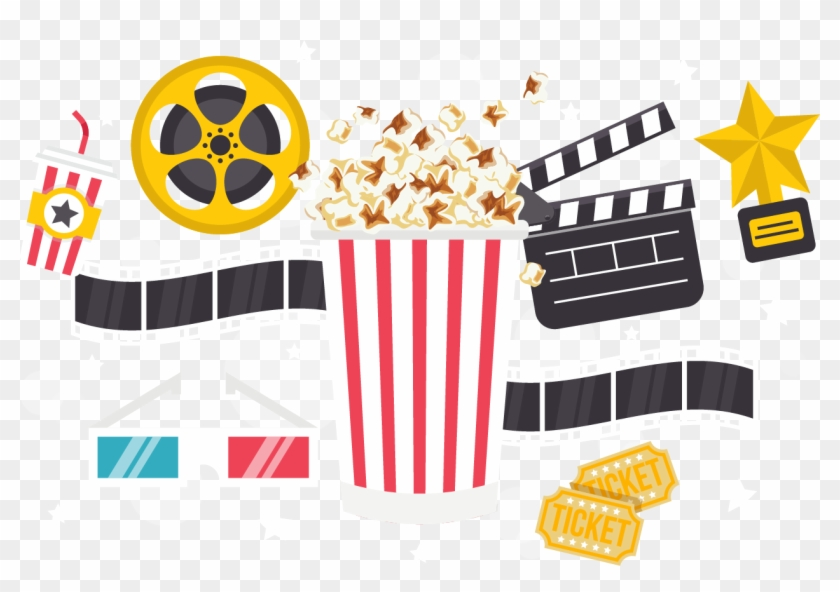 Popcorn Time Cinema Download - Popcorn - Free Transparent PNG