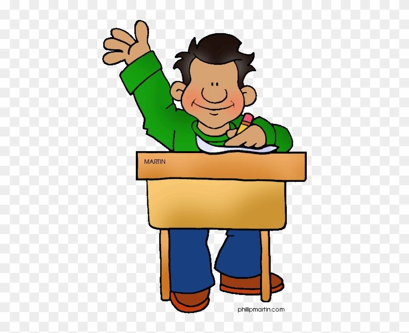 Kid Raising Hand Clip Art 101 Clip Art - Student Clip Art ...