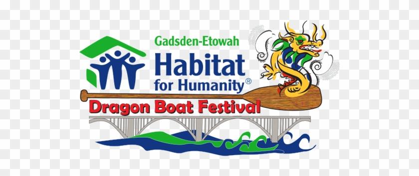 Habitat Dragon Boat Logo - Habitat For Humanity #1053703