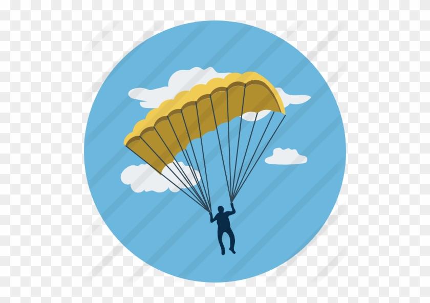 Parachute - Parachute Sky Diving Cufflinks (solid Bronze) #1054194