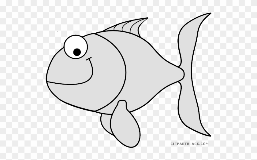 Colorful Fish Animal Free Black White Clipart Images - Colored Fish Clip Art #1056210
