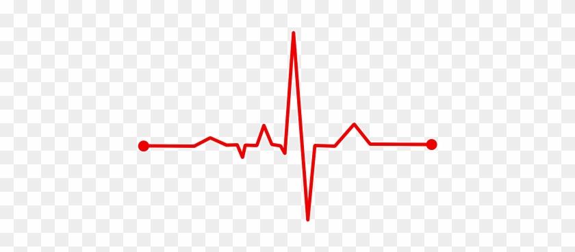 Heart Rate Bpm Ecg Ekg Electrocardiogram E - Heart Monitor Line Png #1056438