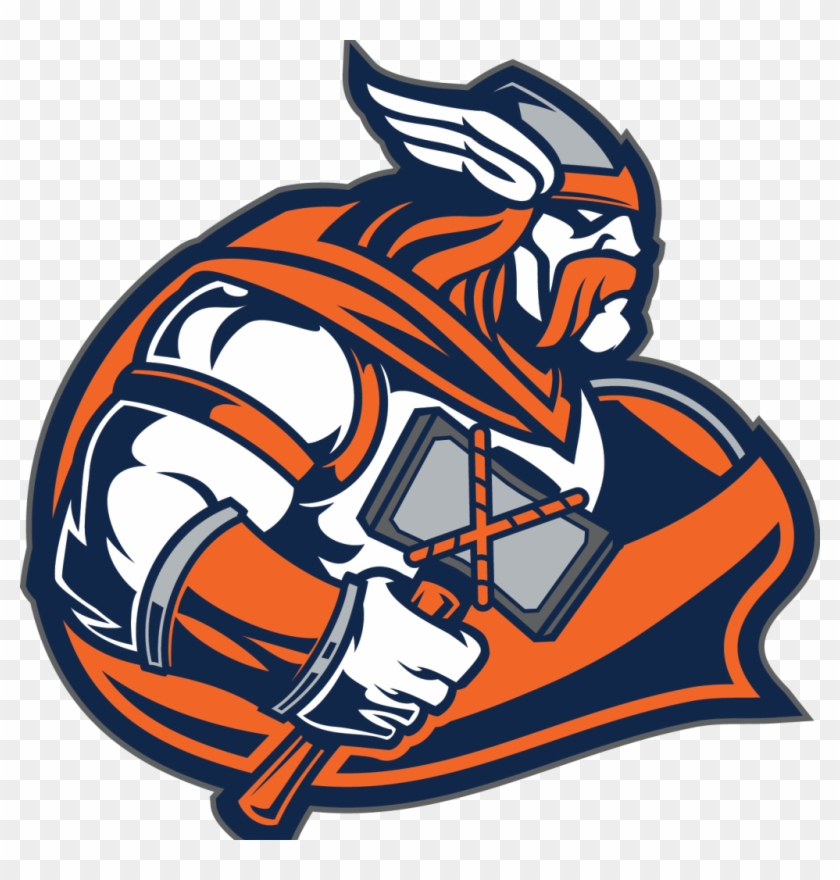 The Falcons Football Team Will Travel To Valhalla Tomorrow - Valhalla High School Logo #1056879