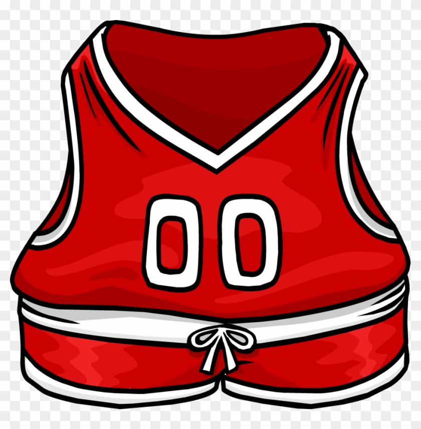 Red Basketball Jersey - Wiki - Free Transparent PNG Clipart Images ...