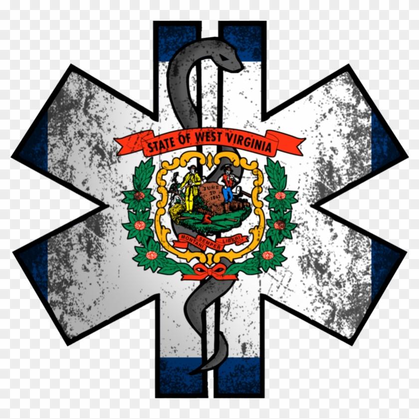 West Virginia Ems West Virginia State Flag Free Transparent Png